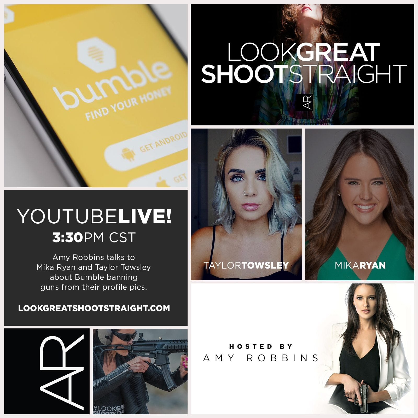 Look Great Shoot Straight #3 – Mika Ryan and Taylor Towsley